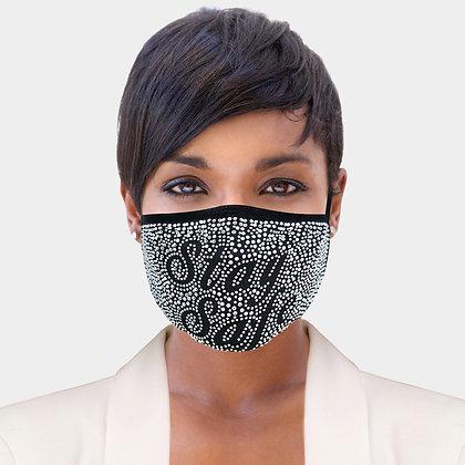 """""""Stay Safe"""" Face Mask"""