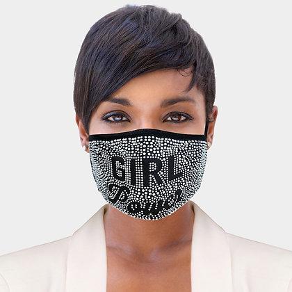 """""""Girl Power"""" Face Mask"""