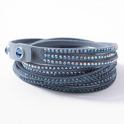 Wrap-Star Bracelet, Denim