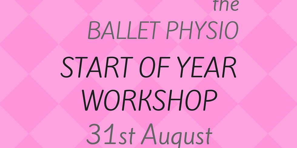 Start of Year Workshop