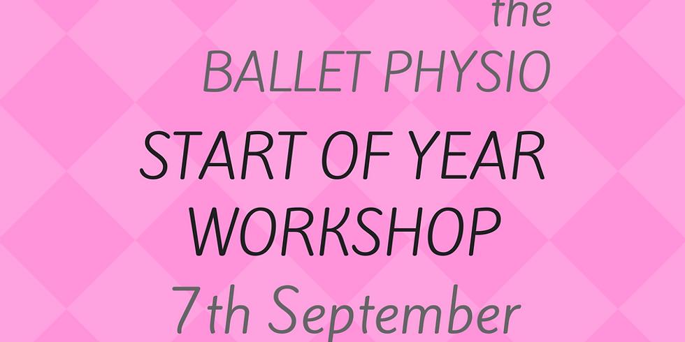 Start of Year Workshop - Royal Ballet School Exclusive
