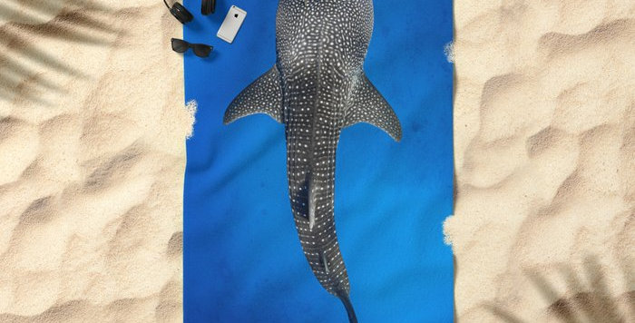 Microfibre Travel Towel - Whale Shark