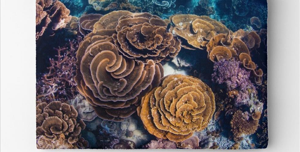 Zipper Pouch - Coral Gardens