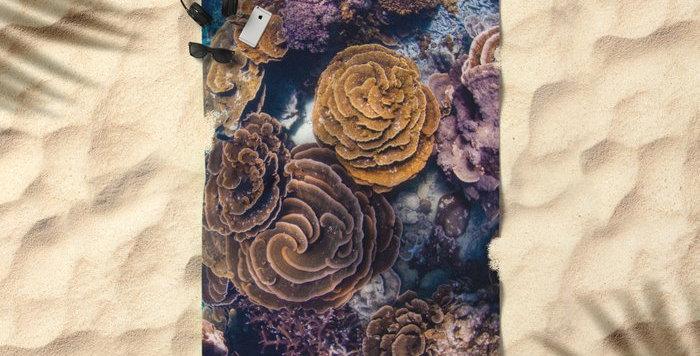 Microfibre Travel Towel - Coral