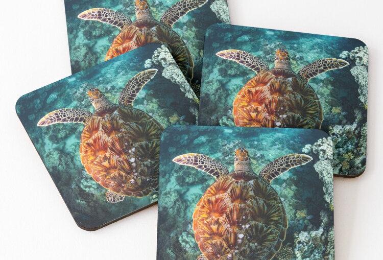 Coasters - Turtle