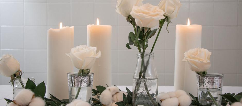 Art de la table chez-soi, -thème: Saint-Valentin-