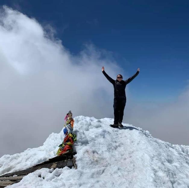 Almost a Piker...Climbing Mt. Adams