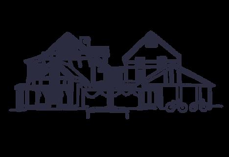 A sketch of The Village Inn