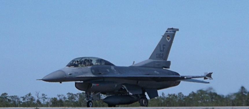 F-16 at Eglin Air Force Base, Florida