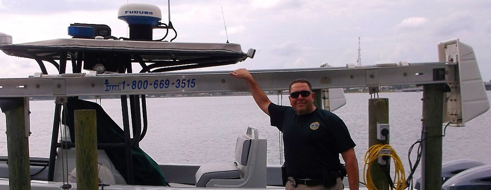 The Sarge with Florida Fish & Wildlife Eglin Air Force Base, Florida