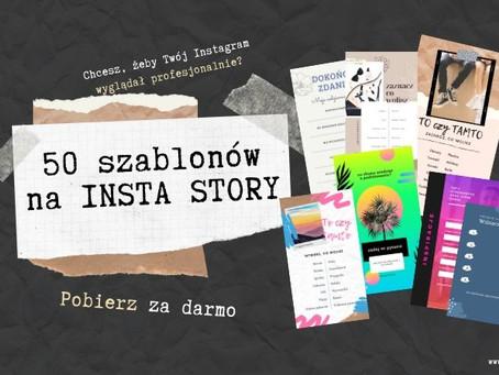 Pobierz SZABLONY INSTA STORY!