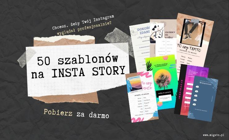 50 szablonów na Insta Story. Pobierz za darmo grafiki do relacji na instagramie. Chcesz, żeby Twój instagram wyglądał profesjonalnie? Pobierz za darmo. Migato.pl.