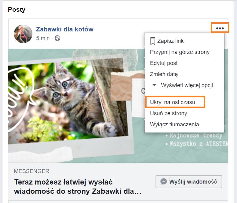 Instrukcja, jak założyć własny fanpage na Facebooku.