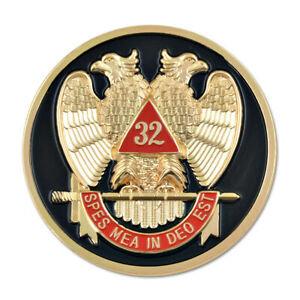 32nd Degree Automobile Emblem