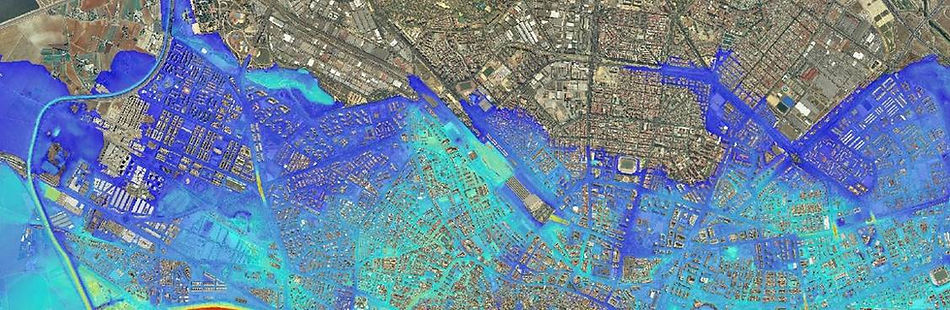 modelización de zonas inundables