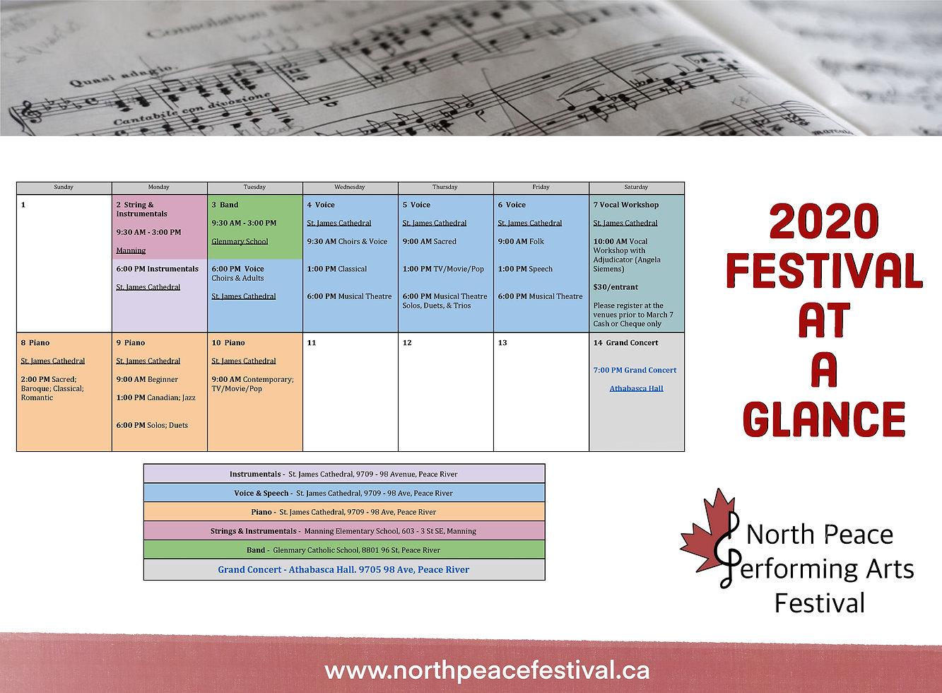 2020 Festival