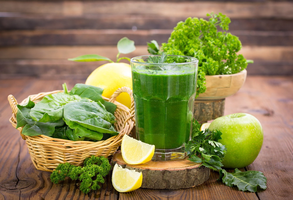 drink zielony mix