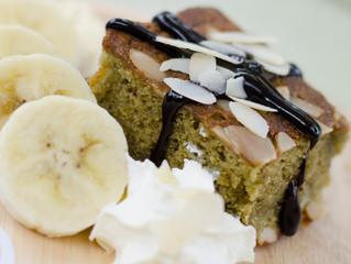 Bananowe Brownie na zielono!