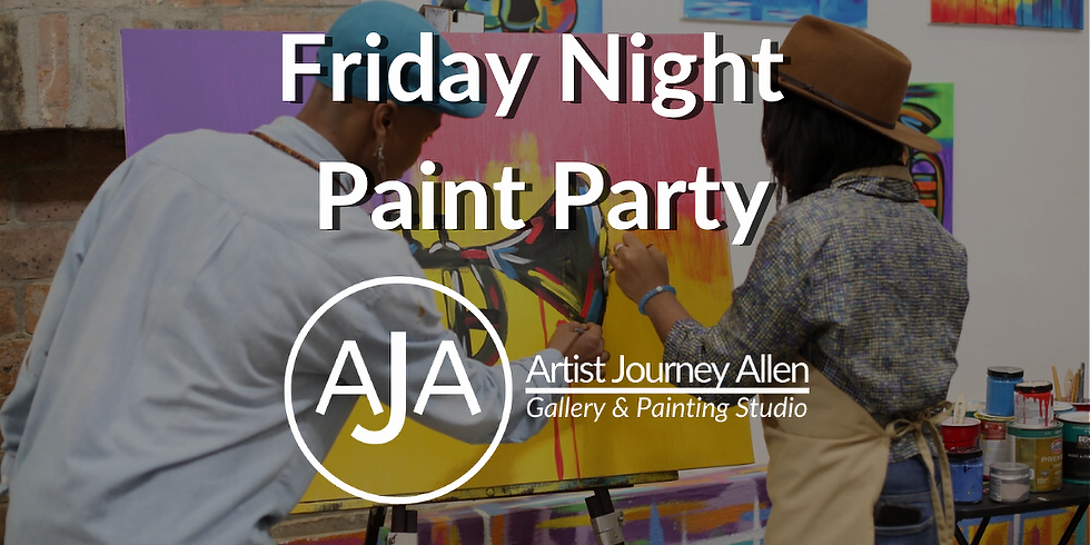 Friday Night Public Paint Party