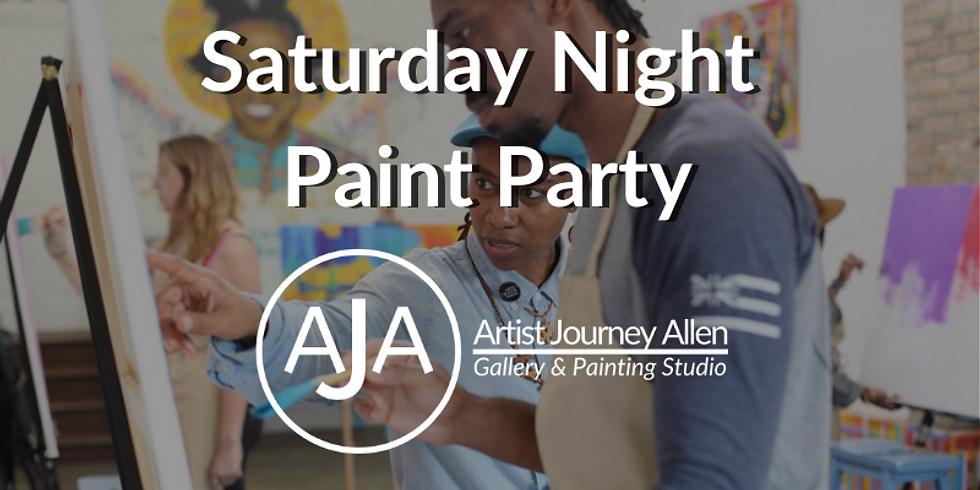 Saturday Night Public Paint Party