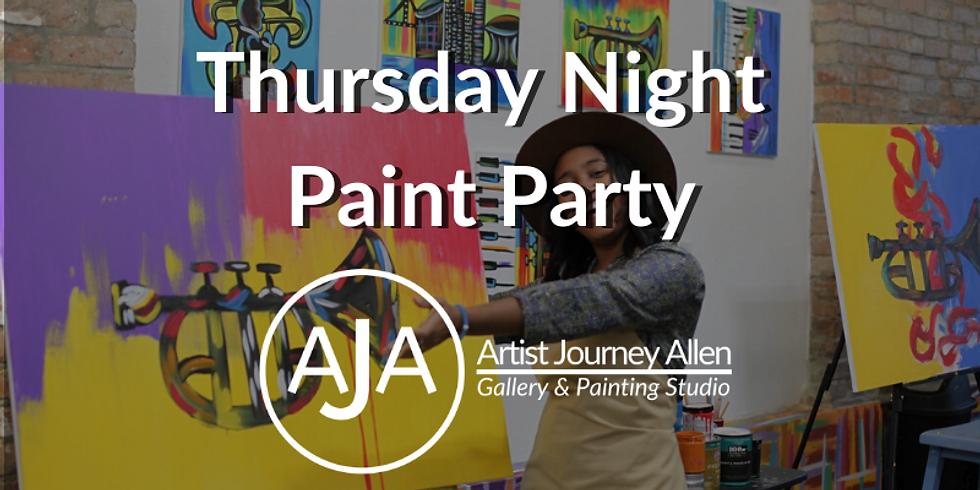 Thursday Night Public Paint Party