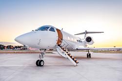 Gulfstream-GIV-Exterior-Sunset
