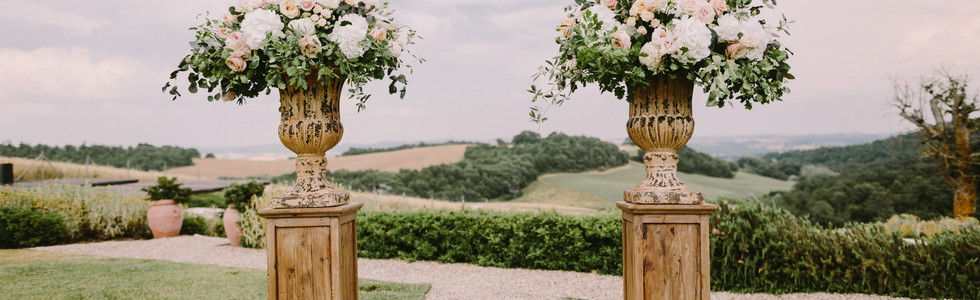 Wedding chic in Tuscany