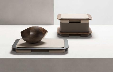 Lloyg trays and boxes from Glenn Sestig by GioBagnara