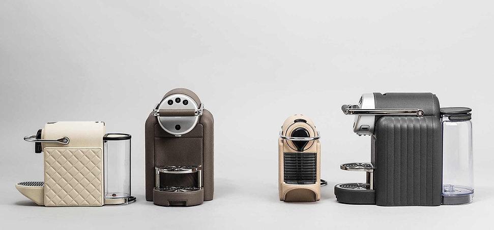 Pigment France Nepresso Coffee Machines by GioBagnara