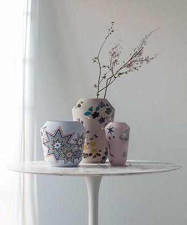 Luna vases from SIEGER by FUERSTENBERG
