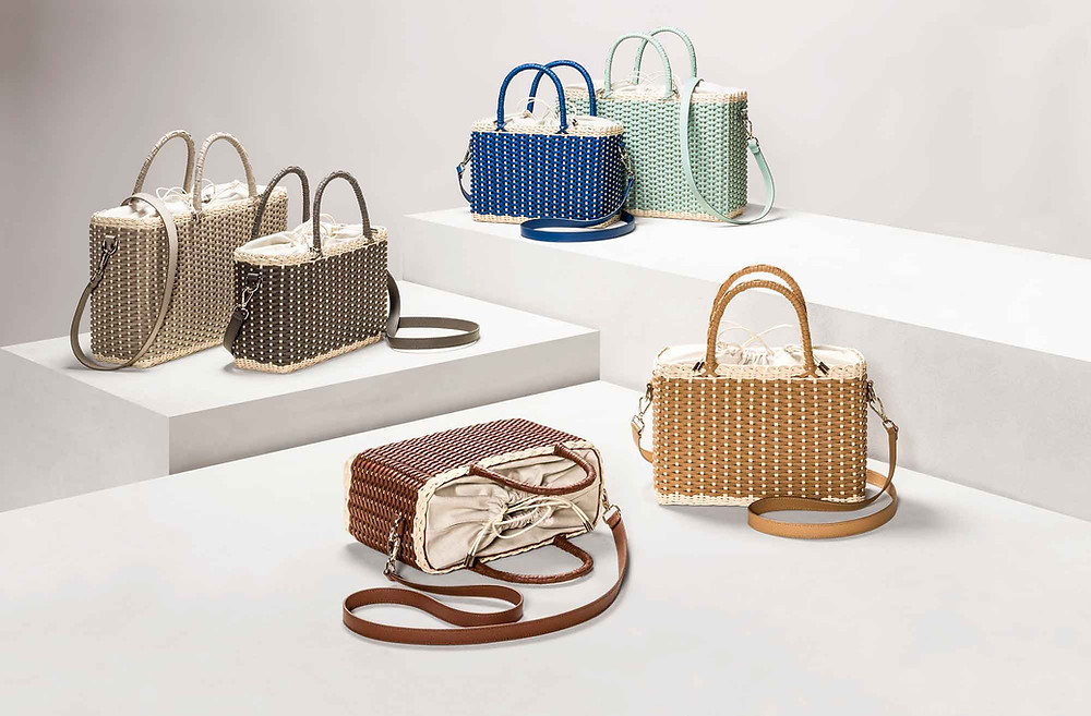 Nartelle day bags collection by Pigment France