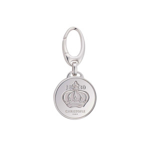 Engravable pet tag from Christofle