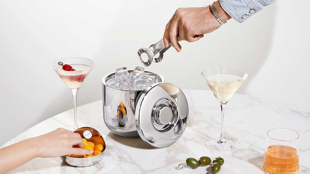 The extended OH de Christofle bar collection