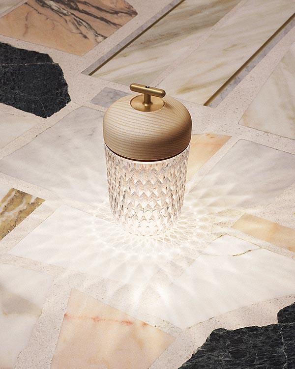 Folia portable lamp from Saint-Louis