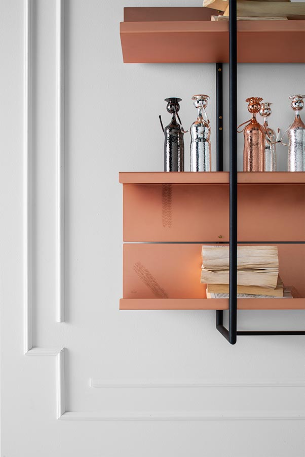 Shelving unit from Zanetto