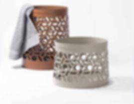 Sienna baskets by RUDI