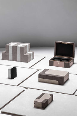Storage boxes from Stephane Parmentier