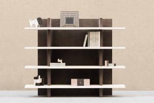 Vector bookshelf by Stephane Parmentier