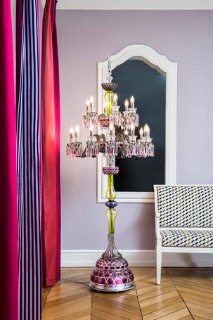 Arlequin chandelier by Saint-Louis