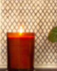 Sunray Glass Candles