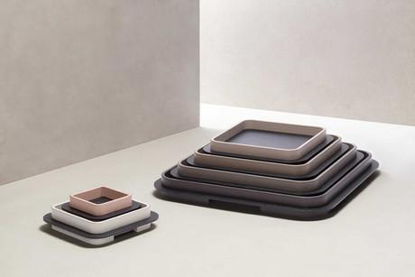 Collection of Lloyd trays from Glenn Sestig for GioBagnara
