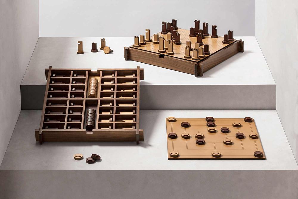 Structura triple game box by GioBagnara
