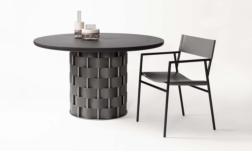 Belvedere table by Rabitti