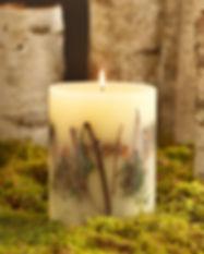 120 hour Botanical Candles