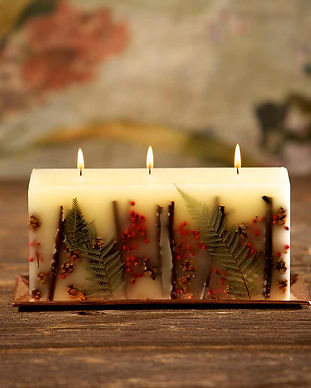 160 hour Botanical Candles