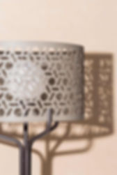 Close up of the Versailles table lamp from RUDI
