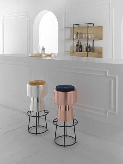 Bar Stools crafted by Zanetto