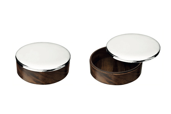 Uni box with silver plated lid from Christofle