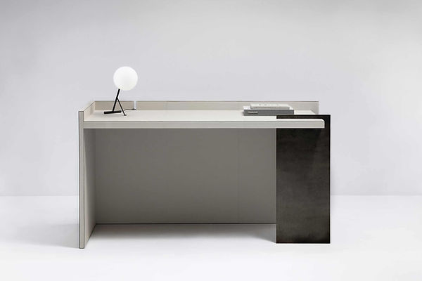Malaparte Desk by Stephane Parmentier x GioBagnara
