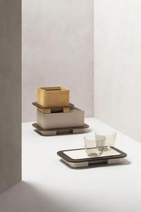 Stacked Lloyd boxes designed by Glenn Sestig for GioBagnara
